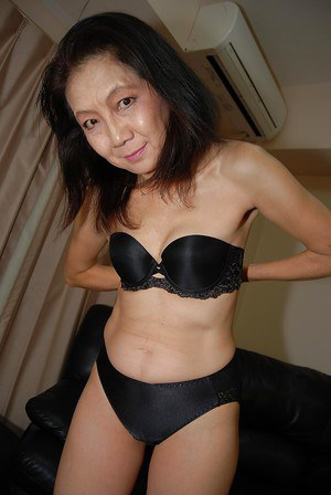 Skinny mature amateur asian milf